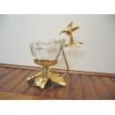 玻璃水晶與蜂鳥燭臺(1)  y12763 水晶飾品系列