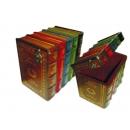 y09607 復古書籍型珠寶收納盒 FF001