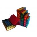 y09614 復古書籍型珠寶收納盒 FF33 (4入一組)