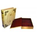 y09615 (11月清倉特價)復古書籍型珠寶收納盒 YY07014