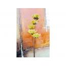 y11720 精緻人造花-天然乾燥花-松果花乾燥花.黃(五支一束)