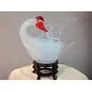 藝術玻璃-白天鵝燈(小)  y12363 水晶飾品系列 A53