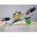 藝術玻璃-柿柿如意 y12365 水晶飾品系列