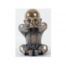 可愛小和尚-非禮不言 y12456 立體雕塑.擺飾 人物立體擺飾 系列-中式人物系列 (另有其他兩款)