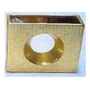y013494金色方形花器(小)(129A)