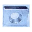 y013493銀色方形花器(小)(129B)