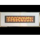金底紅玫瑰 y12970 玻璃壁飾系列