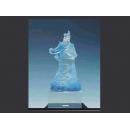 關公(手工盒)  y128921 琉璃水晶系列