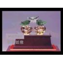 事事如意(木框) y12919 琉璃水晶系列
