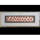 銀底紅玫瑰 y12969 玻璃壁飾系列