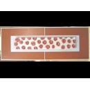 銀底紅玫瑰(橘邊) y12968 玻璃壁飾系列