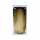 y013489金色杯狀花器(窄長)(42805A)--無庫存