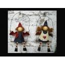 y13366 吊掛鐵製彩繪娃娃(60528A.B)