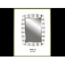 銀箔波浪鏡子 y12687 時鐘.溫度計.鏡子 鏡子(9004-2-S)