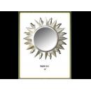 銀色月亮圓鏡 y12674 時鐘.溫度計.鏡子 鏡子(9059-2-S)
