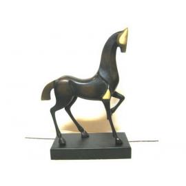銅雕系列(y12390) - 銅雕動物 - 藝術唐馬.抽象馬(CU-053)*