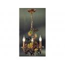 y12465 燈飾-手工鋼製吊燈 DLS-8126-2