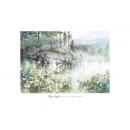 y09417 複製畫 Engle 安可-岸邊雛菊(E266)