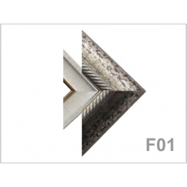 yg008 畫框-大麻+004銀 F01