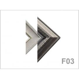yg004 畫框 F03(大麻+707銀)10呎
