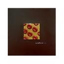 金底紅玫瑰 y12945 玻璃壁飾系列