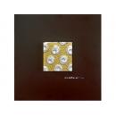 金底銀玫瑰 y12944 玻璃壁飾系列