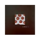 銀底紅玫瑰 y12942 玻璃壁飾系列