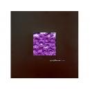 紫玫瑰 y12937  玻璃壁飾系列