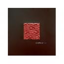 艷紅水波 y12934-玻璃壁飾系列