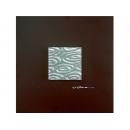 銀光水波 y12932 玻璃壁飾系列  銀光水波
