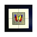 蝴蝶(3) y03010 玻璃壁飾系列