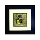 蝴蝶(4) y03009 玻璃壁飾系列
