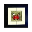蝴蝶(5) y03008 玻璃壁飾系列