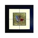 蝴蝶(7) y03006 玻璃壁飾系列