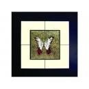 蝴蝶(8) y03005 玻璃壁飾系列