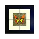 蝴蝶(9) y03004 玻璃壁飾系列