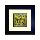 蝴蝶(10) y03003 玻璃壁飾系列