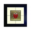 瓢蟲(1) y03002 玻璃壁飾系列