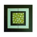金底銀玫瑰 y12959 玻璃壁飾系列