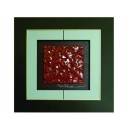 紅玫瑰 y12958 玻璃壁飾系列