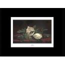 y09414 複製畫 Heade 錫德-含苞木蘭花(H1312)
