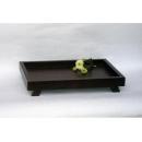 y03713-餐茶玻璃-咖啡茶具-禪憶和風原木托盤