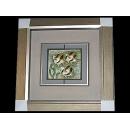 y13235-ID0074瓷漆畫-熱帶魚