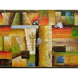 y00378 油畫 抽象(P1-2-002)