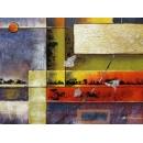 y00379 油畫 抽象(P1-2-003)