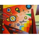 y00380 油畫 抽象(P1-2-004)