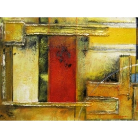 y00381 油畫 抽象(P1-2-005)
