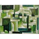 y00383 油畫 抽象(P1-2-007)