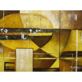y00385 油畫 抽象(P1-2-009)