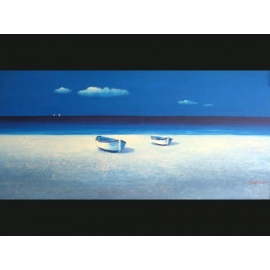 y00004 油畫 海景(P1-2-015)
